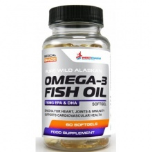 Антиоксидант WestPharm Omega fish oil 60 капсул